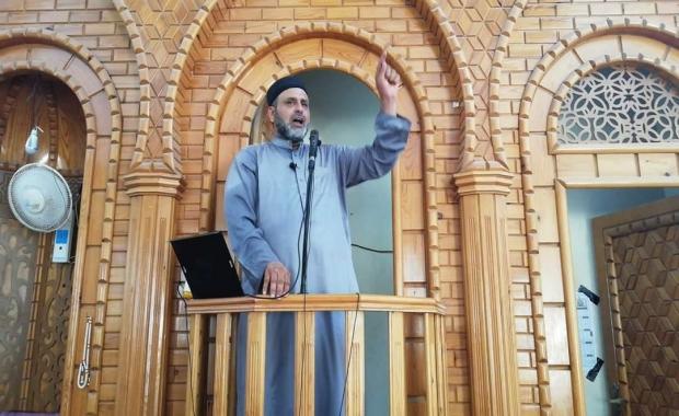 أبرز ما تحدث به الدكتور/ أسعد أبوشريعة أبوالشيخ رئيس المجمع الدعوي خلال خطبة الجمعة في مسجد عقبى الدار جنوب مدينة غزة